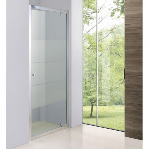 Porte de douche pivotante 6mm AQUAPLUS (003-80) 800x2000mm